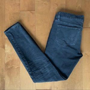 J.Crew Toothpick Corduroy Jeans Skinny Cords 24